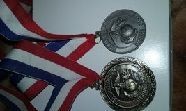 Medals,honor grad,athletic medal in Cherry Point, North Carolina