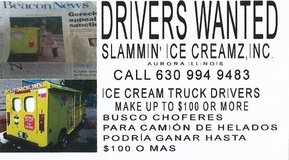 DRIVERS WANTED in Oswego, Illinois