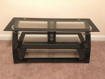Metal/Glass TV Stand in Fort Eustis, Virginia