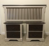 Vaughan Bassett Headboard & Large Nightstands in Camp Lejeune, North Carolina