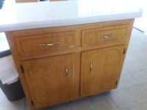 Kitchen island in Fort Campbell, Kentucky