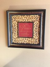 Leopard home decor items - all items the five photos in The Woodlands, Texas