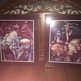 Cirque du Soleil type large prints - professionally framed in The Woodlands, Texas