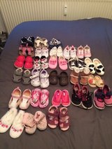 26 Pairs of Girls Shoes (newborn to size 6) in Ramstein, Germany