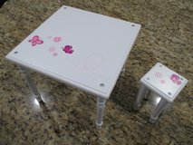 """18"""" Doll Chair and Table in Houston, Texas"""