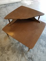 Vintage corner table in Camp Lejeune, North Carolina