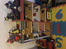 Fire house play set in Bolingbrook, Illinois
