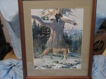"Jack Dumas ""Cougar Country"" Ltd. Edition, Numbered and Signed in Kingwood, Texas"