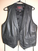 Sturgis Leather Women's Vest by Rose in Lawton, Oklahoma