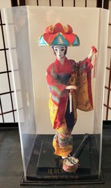 Older vintage Geisha doll Japanese in Vacaville, California