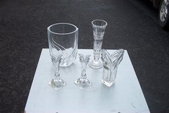 YOUR CHOICE OF GLASS VASES in Bartlett, Illinois