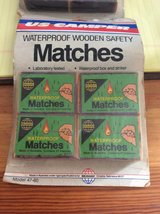 Vintage Waterproof Safety Matches in Okinawa, Japan