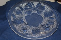 Glass Christmas Cookie Platters (Reduced) in Alamogordo, New Mexico