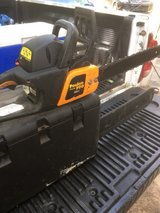 "poulan pro 42cc 18""bar chainsaw runs excellent just serviced $100 in Warner Robins, Georgia"