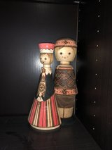 Wooden Dolls from Soviet Union in The Woodlands, Texas