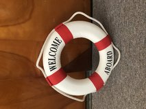 Welcome Aboard Nautical Life Ring Decor in Camp Lejeune, North Carolina