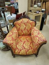 Awesome Antique Ornate Carved  Victorian Wood Parlor Chair in Chicago, Illinois