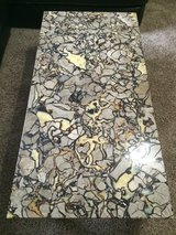 Real marble coffee table in Fort Campbell, Kentucky