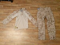 Desert FROG gear MR tops and ML bottoms in Camp Pendleton, California