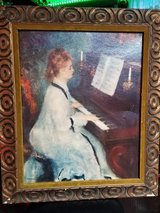"""Painting """"Lady at the piano"""" in Chicago, Illinois"""