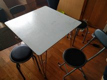 Small table, 2 chairs, 2 stools in Okinawa, Japan