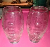 Glass Football drinking glasses in Fort Campbell, Kentucky