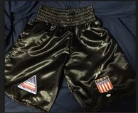 iron Mike Tyson Autographed Trunks JSA Witnessed in Baytown, Texas