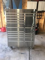 HammerHead 41 inch 19 Drawer Stainless Steel Rolling Tool Chest Combo in Shorewood, Illinois