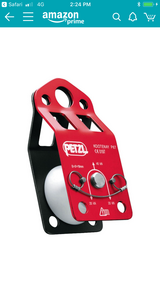 Petzl single Pulley in Okinawa, Japan