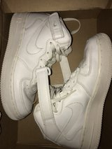 Air Force 1 mid white in Okinawa, Japan