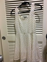 Cream dress sz S in Okinawa, Japan