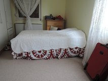Twin Bed  w/frame in Ramstein, Germany