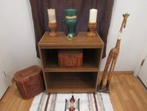 Tall tv stand it is 28 1/2 high by 14 1/2 deep & 24 1/2 wide in Alamogordo, New Mexico