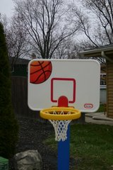 kids baseball hoop in Orland Park, Illinois
