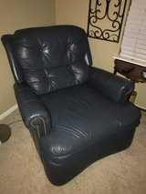 Leather rocking recliner in Kingwood, Texas