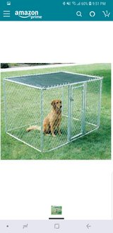 Outdoor Kennel 6x6x4 With Cover in Colorado Springs, Colorado