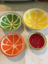 Fruit Measuring Bowls Stackable in Fort Campbell, Kentucky