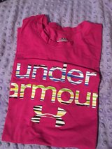 girls med-large under armour shirts in Macon, Georgia