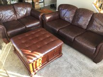 Couch loves seat and ottoman in Sandwich, Illinois