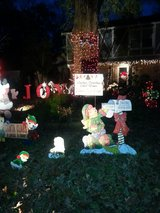 Christmas Decorations in Kingwood, Texas