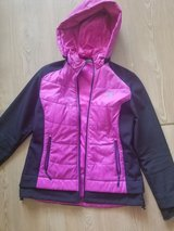 New Balance Size Lg Jacket! Pink and Black Great condition! in Clarksville, Tennessee