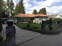FOR RENT Ludwigsthal VILLA exclusive House Mansion Pool, Glasshouse, Summerhouse, Park, Koi Pond in Ramstein, Germany