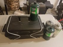 Portable Gas Grill with Propane Tanks in Camp Lejeune, North Carolina