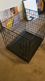 24 inch metal dog crate/cage in Sandwich, Illinois