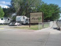 BIG SHADED RV LOT FOR RENT AT EVERGREEN M.H.P FREE WI FI $ 300 /MONTH in Alamogordo, New Mexico