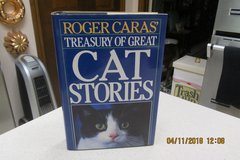 "Roger Caras ""Treasury Of Great Cat Stories"" in Kingwood, Texas"