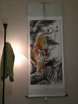 6' Tiger Japanese Scroll Poster in Phoenix, Arizona