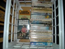 LOUIS  L'AMOUR paperback books in Fort Riley, Kansas