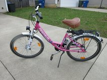 Girl's bicycle in Elizabethtown, Kentucky