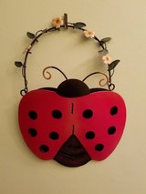 Metal lady bug wall decor in Plainfield, Illinois